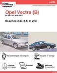 Revue Technique Opel Vectra B essence