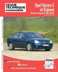 Revue Technique Opel Vectra C et Signum