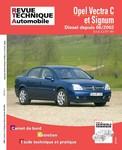 Revue Technique Opel Vectra C ph. 1 et Signum ph. 1