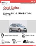 Revue Technique Opel Zafira A essence et GNV