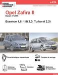 Revue Technique Opel Zafira B essence