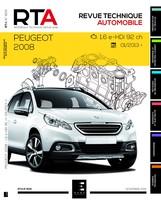 Revue Technique Peugeot 2008 I phase 1