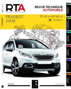 Revue Technique Peugeot 2008 e-HDi
