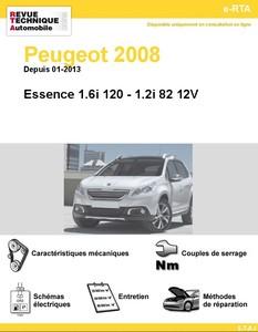 Revue Technique Peugeot 2008 essence