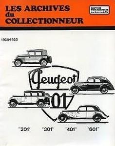 Revue Technique Peugeot 201, 301 et 401