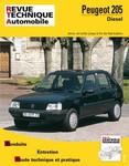 Revue Technique Peugeot 205 diesel