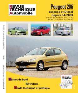 Revue Technique Peugeot 206