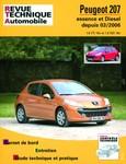 Revue Technique Peugeot 207