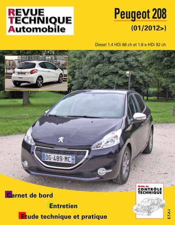 Revue Technique Peugeot 208 I phase 1