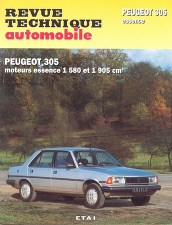 Revue Technique Peugeot 305 essence