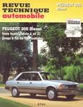 Revue Technique Peugeot 305 phase 2 diesel