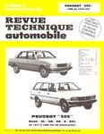 Revue Technique Peugeot 305 phase 2 essence