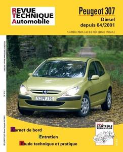Revue Technique Peugeot 307 phase 1 HDI