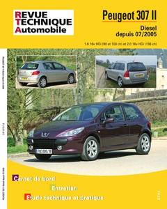 Revue Technique Peugeot 307 phase 2 HDI