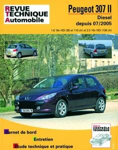 Revue Technique Peugeot 307 phase 2 diesel
