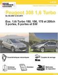 Revue Technique Peugeot 308 1,6 Turbo et GTI