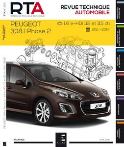 Revue Technique Peugeot 308 I phase 2