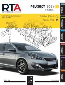 Revue Technique Peugeot 308 II phase 1 essence