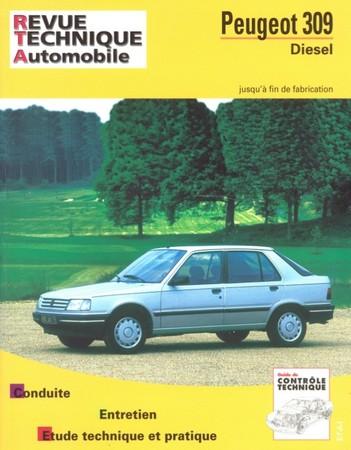 Revue Technique Peugeot 309 diesel