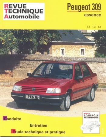 Revue Technique Peugeot 309 phase 2 essence