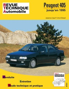 Revue Technique Peugeot 405