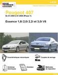 Revue Technique Peugeot 407 Essence Phase 1