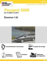 Revue Technique Peugeot 5008 I essence