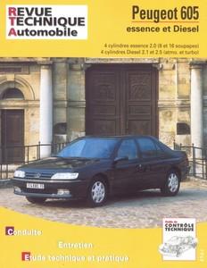Les Revues Techniques Peugeot 605