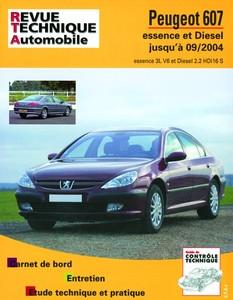 Revue Technique Peugeot 607