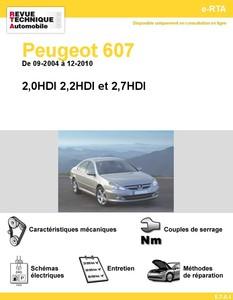 Revue Technique Peugeot 607 Diesel