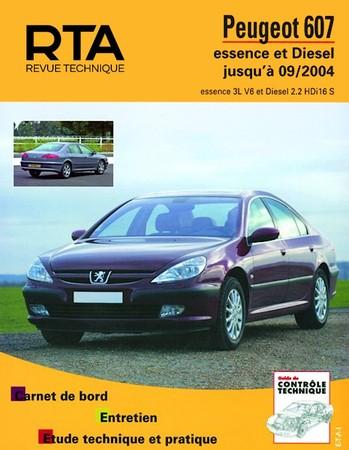 Revue Technique Peugeot 607 phase 1