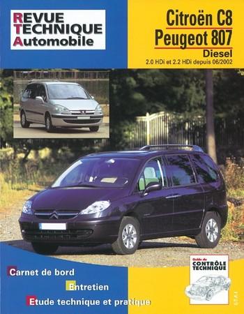 Revue Technique Peugeot 806 et Citroën Evasion diesel