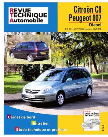 Revue Technique Peugeot 807 et Citroën Evasion diesel