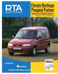 Revue Technique Peugeot Partner I ph. 1 et Citroën Berlingo I ph. 1