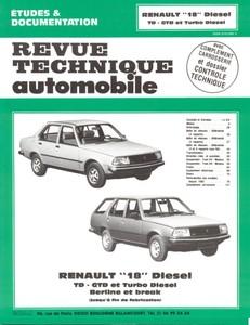 Revue Technique Renault 18 diesel