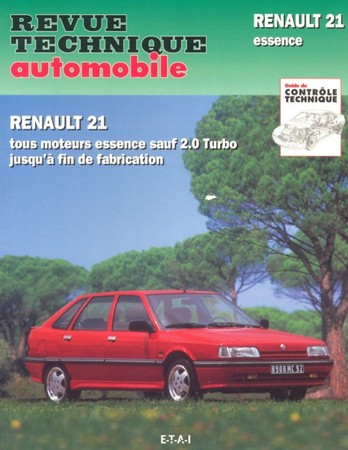 Revue Technique Renault 21 essence
