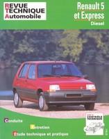 Revue Technique Renault 5 et Express diesel