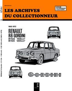 Revue Technique Renault 8 Gordini