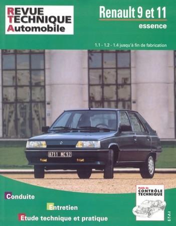 Revue Technique Renault 9 et 11 essence