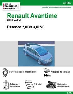 Revue Technique Renault Avantime