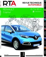 Revue Technique Renault Captur I phase 1