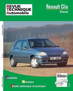 Revue Technique Renault Clio I diesel