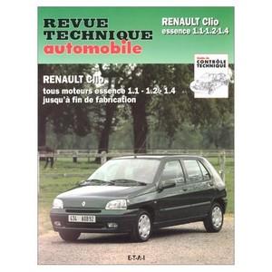 Revue Technique Renault Clio I essence