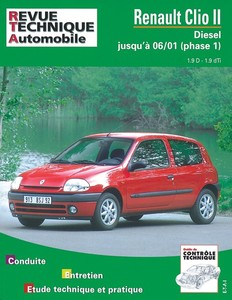 Revue Technique Renault Clio II diesel