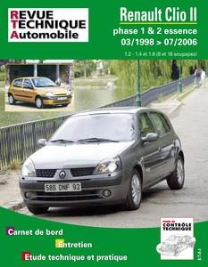 Revue Technique  Renault Clio II essence