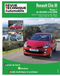 Revue Technique Renault Clio III phase 1