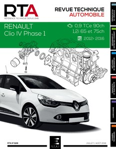 Revue Technique Renault Clio IV phase 1 essence