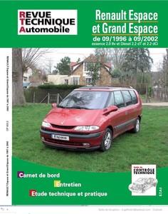 Revue Technique Renault Espace III et Grand Espace