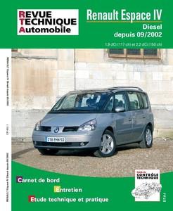 Revue Technique Renault Espace IV phase 1 dCi