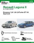 Revue Technique Renault Laguna II Essence (sauf 2,0i)